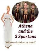 Athena & the 3 Spartans